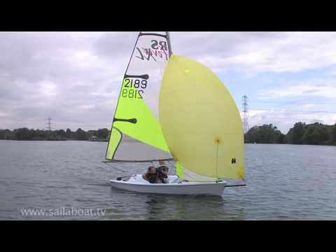 How to sail with a Spinnaker on a small sailboat