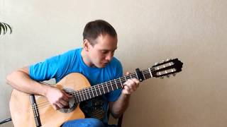 Sealed with a kiss. Fingerstyle-guitar cover.(Даю уроки игры на гитаре в Москве. tragov.p@mail.ru