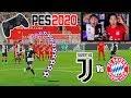 Reto ÉPICO!!! Juventus Vs Bayern con CASTIGO 😱 PES2020