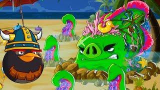 Энгри Бердс ЭПИК #131 Конкурс + ЗЛЫЕ ПТИЧКИ Angry Birds и Bad Piggies ! Игра про мультик #крутилкины