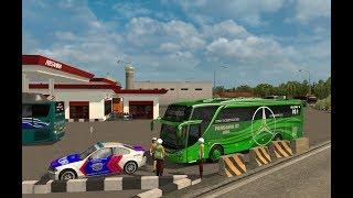 Pandawa 87 HDD kena tilang || ets 2 bus mod indonesia