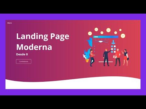 Como crear una PAGINA WEB profesional GRATIS 2019 ✔️ LANDING PAGE con HTML CSS Y JS thumbnail