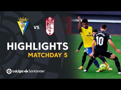 Cadiz Granada Goals And Highlights
