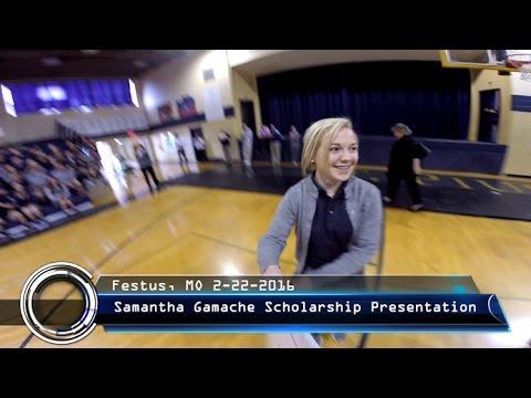 Samantha Gamache - Scholarship Winner | Columbia College