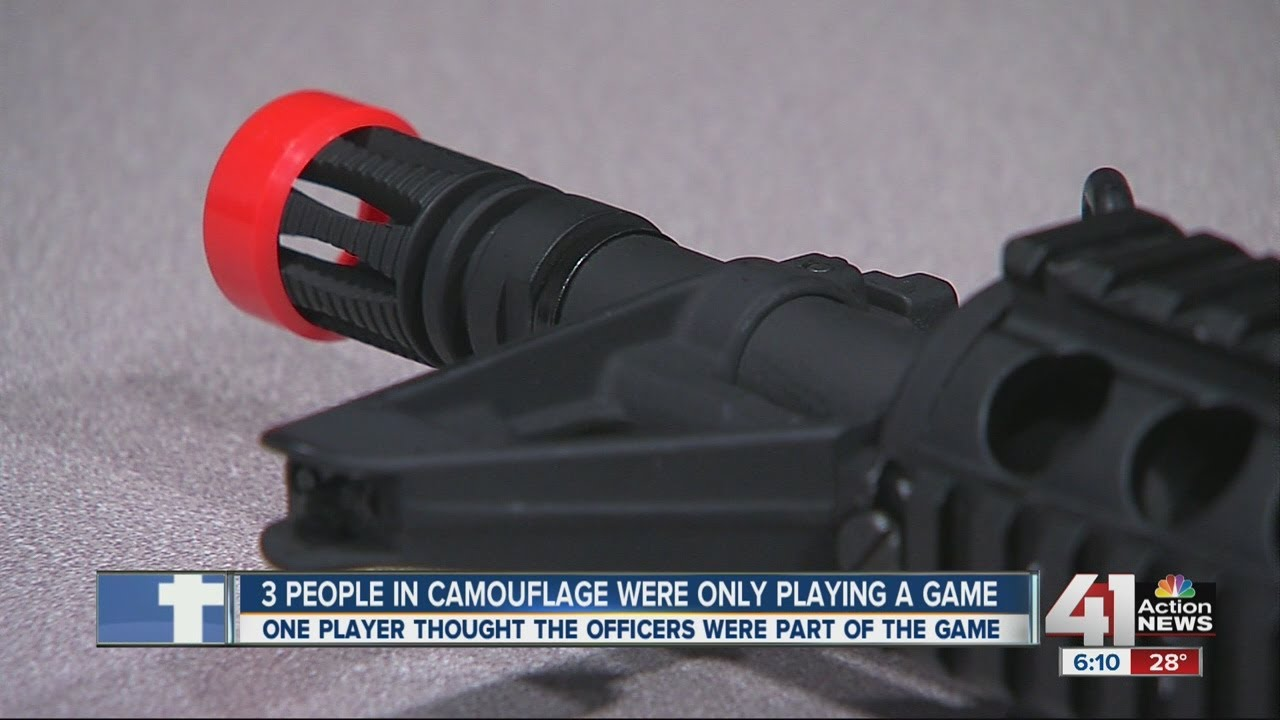 Download Shooting game causes confusion with police