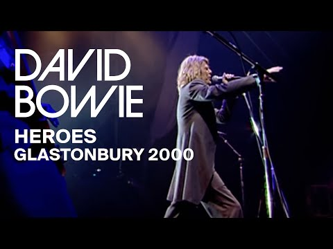 "David Bowie - ""Heroes"", Live at Glastonbury 2000 (Video Clip)"