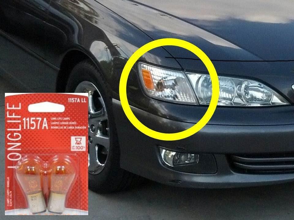For A Fuse Box Diagram For 2002 Town Car Lexus Es300 Front Blinker Light Bulb Replacement 1157a Es