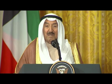 LIVE: President Trump with Emir of Kuwait