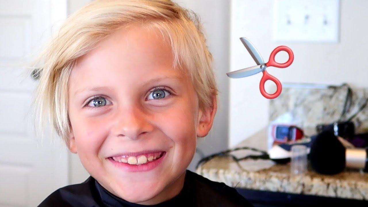 Cute Little Kids Get Cute Haircut Youtube