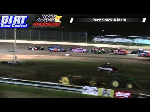 North Central Speedway 6 7 14 Pure Stock Races