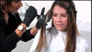 омбре волосы видео