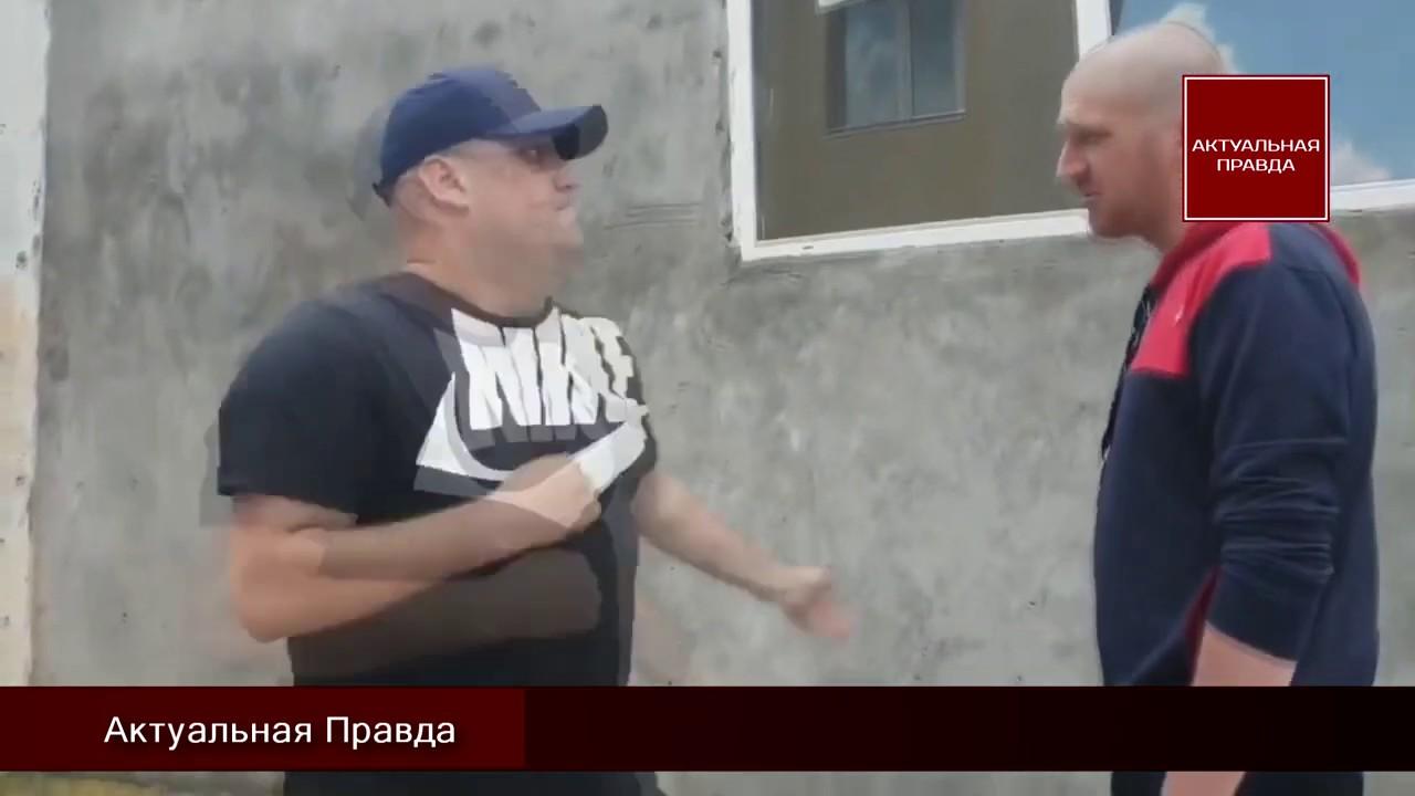 Скандальное видео: ветерана АТО избили за то, что он воюет против фашистской России