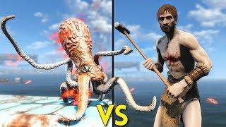 Fallout 4 - 50 SQUIDS vs 30 BRADBERTONS - Battles #73