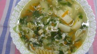Полезный суп с секретным ингредиентом.