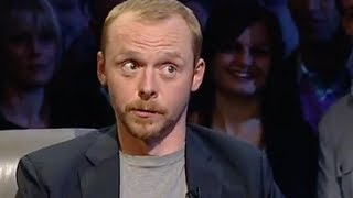 The Simon Pegg celebrity interview & lap - Top Gear - BBC autos