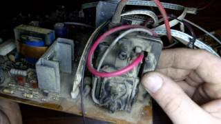 Что можно взять из старого телевизора, клад для начинающего радиолюбителя