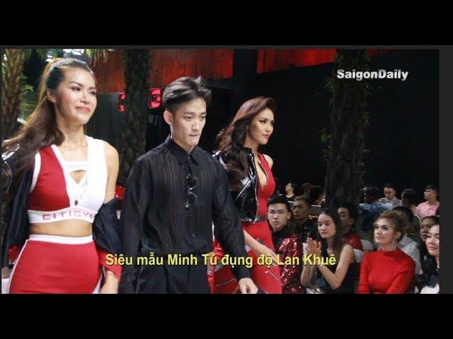 Lan Khuê - Minh Tú lần đầu catwalk chung hậu cuộc chiến 'môi thâm', 'quần độn' ở The Face