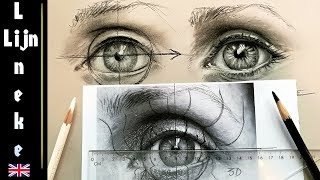 eye draw realistic beginners charcoal easy drawing