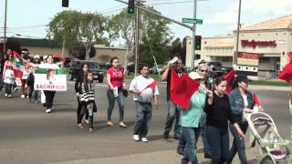 Cesar Chavez March in Visalia, California