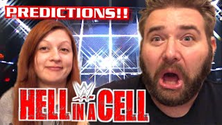 WWE HELL IN A CELL 2017 PREDICTIONS WITH HILARIOUS FAT MAN AND HEEL WIFE!