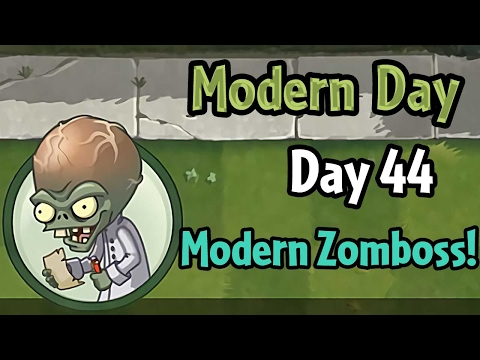 Plants vs Zombies 2 - Modern Day - Day 44: Modern Day Zombos