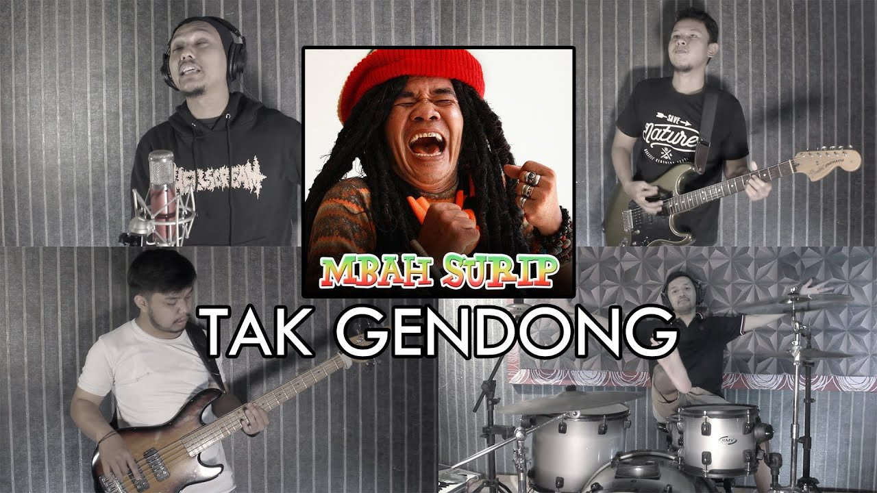 Mbah Surip - Tak Gendong | REGGAE COVER by Sanca Records