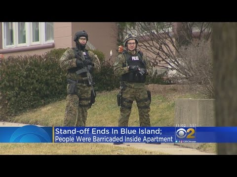 Barricade Situation Ends In Blue Island