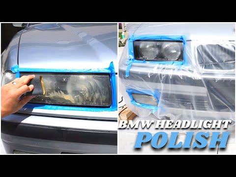 How To Clean Headlights - Like A Pro