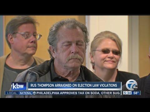Local activist arraigned on election law violations