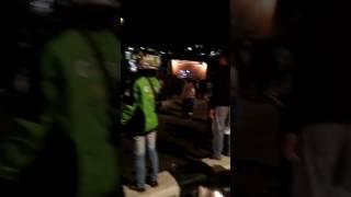 demo dukung ahok malah ribut sesama pendukung sendiri