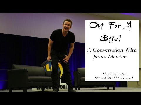 Out For A Bite! A Conversation With James Marsters