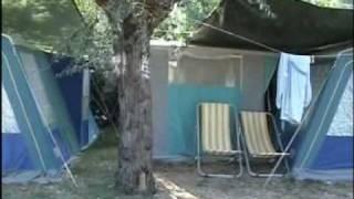 TENDE ATTREZZATE - Camping La Risacca Porto S. Elpidio - Marche / Marchen - Italy