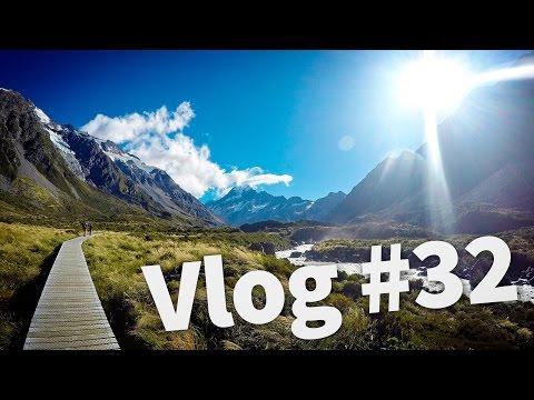 NEW ZEALAND'S HIGHEST MOUNTAIN   MOUNT COOK - Travel New Zealand - Vlog #32