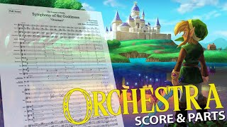 "Symphony of the Goddesses ""Overture"" - Full Orchestra - Score + Parts"