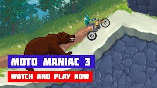 Moto Maniac 3 · Game · Gameplay