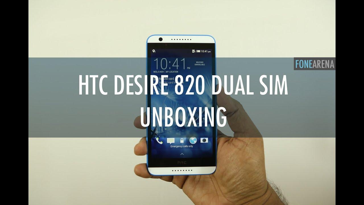 HTC Desire 820 Dual Sim - Unpacking!