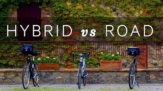 Which bike should you choose? Hybrid vs Road