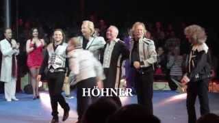 """Fulminante Premiere der """"Höhner Rockin' Roncalli Show"""""""