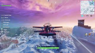 Fortnite/ Visit Frosty flights and Tomato temple in a single match / week2
