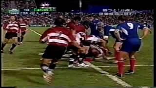 ラグビーW杯 日本代表の美しいトライ【2003】