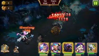 Magic Rush Heroes - Dungeon Layer 105 (Poison Lips)
