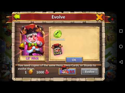 Castle Clash: How To Evolve A Hero