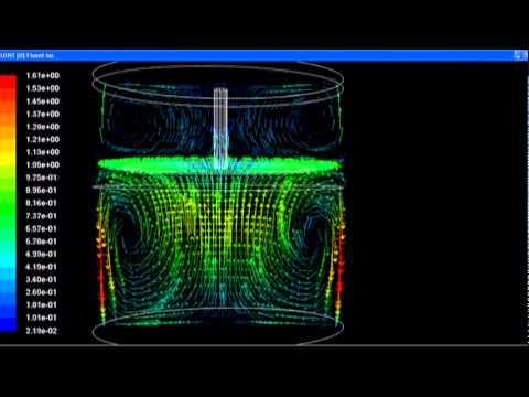 cfd simulation of a vibromixer mixer with reciprocating agitator 3d velocity vectors youtube. Black Bedroom Furniture Sets. Home Design Ideas