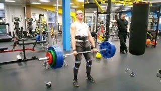 Становая тяга 170 кг на 3 раза 03 05 2016