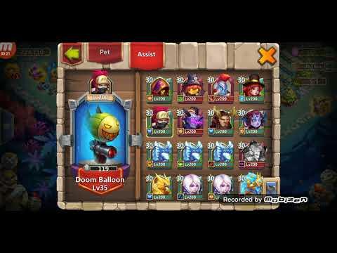 Castle Clash 1.3m Consumed..
