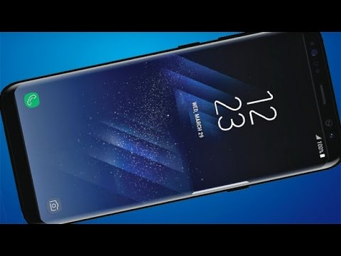 Samsung Galaxy S8 Hands-on Review! - The Infinity Display!
