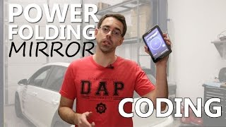 MK7 Power Folding Mirror Coding with OBDeleven