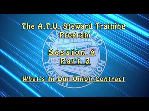 Introductory Shop Stewards Videos - Session 4 / Part 3