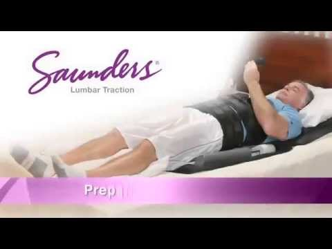 Saunders Lumbar Home Traction Device Instructions