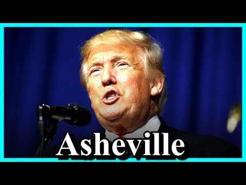 Donald Trump Rally in Asheville, North Carolina